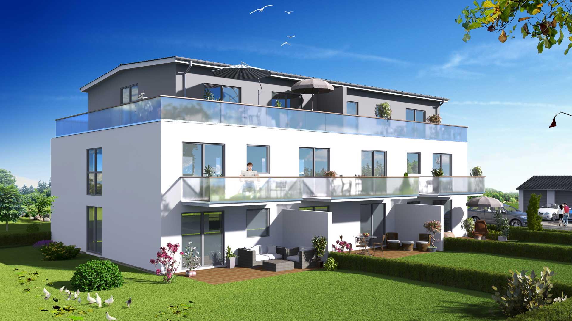 Immobilien in Cham (Kreis), Roding, Regensburg und Schwandorf